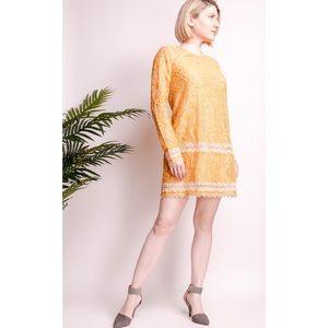 Lovers + Friends Senorita lace shift mini dress